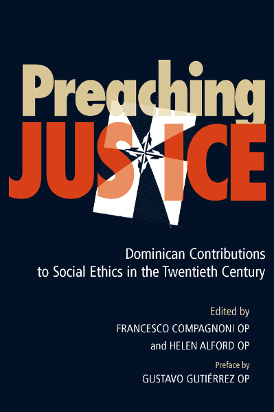 Preaching Justice: Vol. I book cover