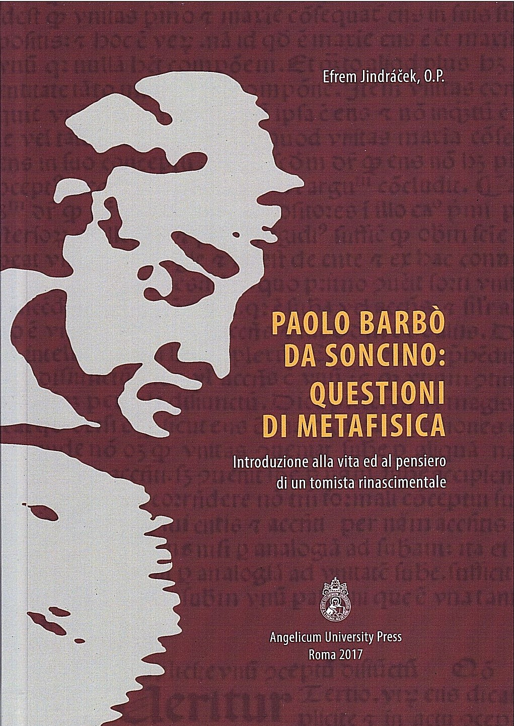 Paolo Barbò da Soncino: Questioni di metafisica book cover