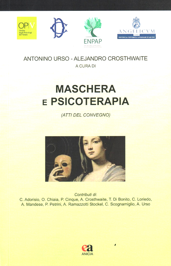 Maschera e psicoterapia book cover