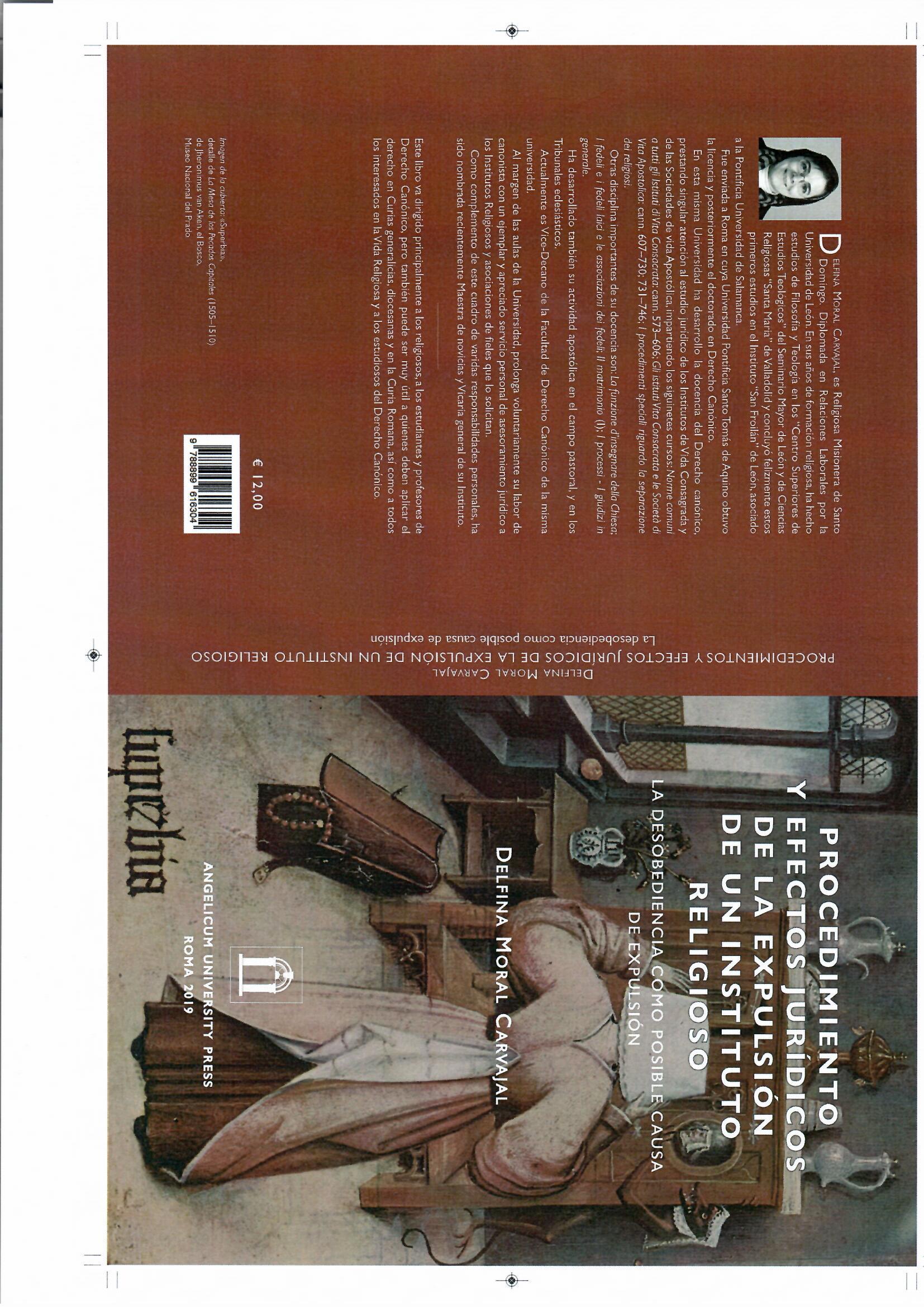 PROCEDIMIENTO Y EFFECTOS JURÍDICOS DE LA EXPULSIΌN DE UN INSTITUTO RELIGIOSO book cover