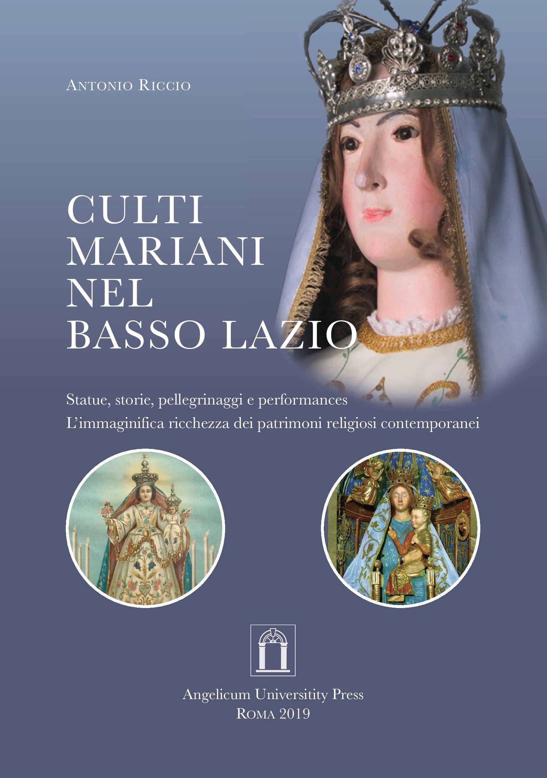 Culti mariani nel basso Lazio book cover