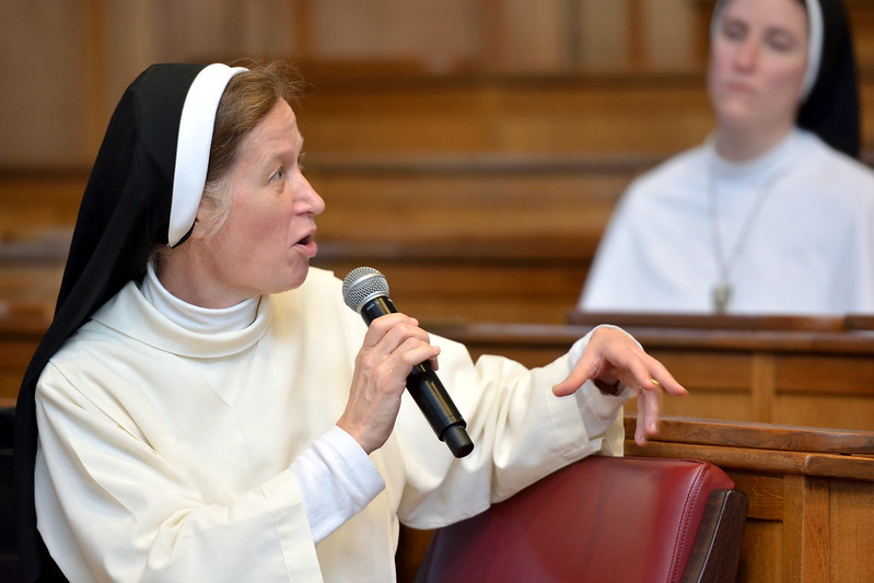 Sr. Helen Alford OP, vice-rector of the Angelicum