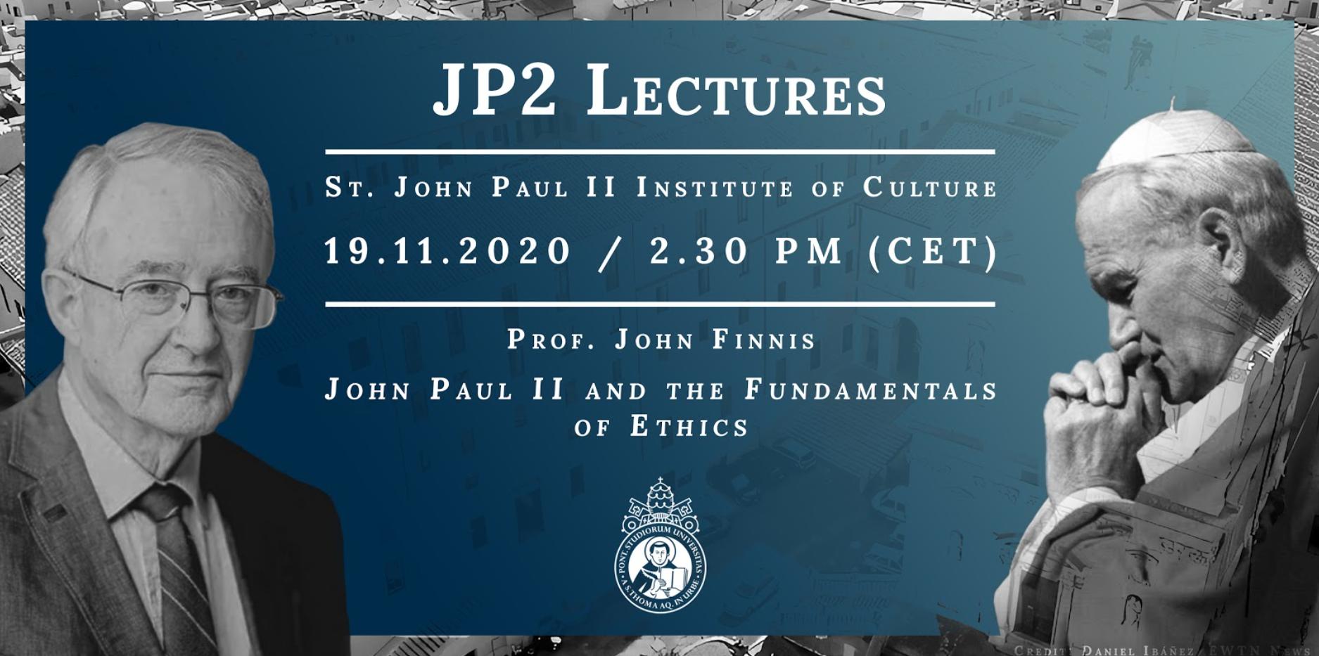 JP2 John Finnis Lecture