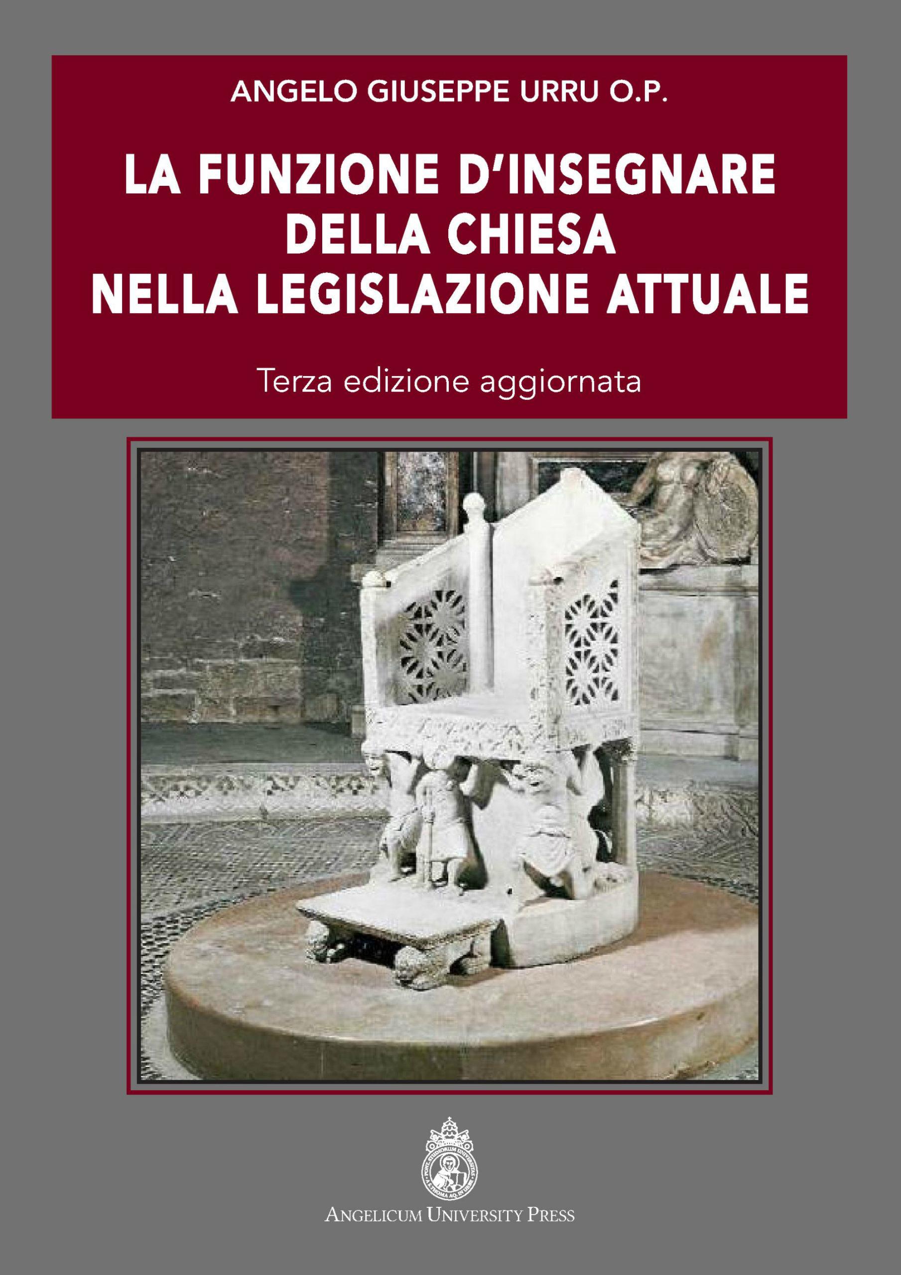 La funzione di insegnare della Chiesa nella legislazione attuale book cover