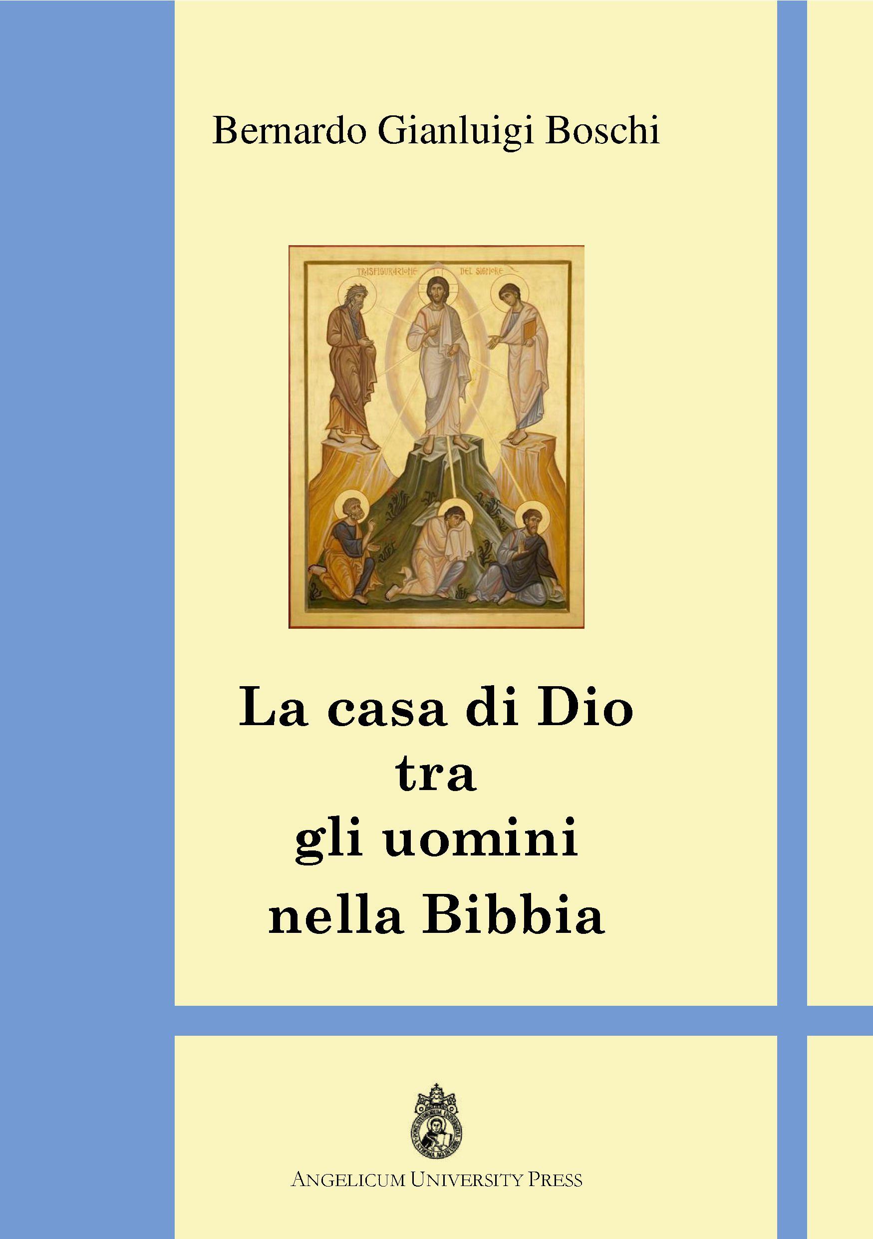 La casa di Dio tra gli uomini nella Bibbia book cover